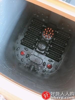 interlace,1# - 左点泡脚桶电动按摩加高过膝足浴盆,加热恒温全自动家用蒸汽洗脚盆