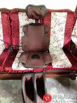 interlace,1# - 本博肩颈椎按摩器,颈部腰部肩部背部腰椎多功能靠垫全身家用椅垫