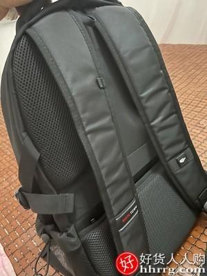 interlace,1# - 瑞士Rustic town双肩包,超大容量休闲商务旅行电脑背包书包