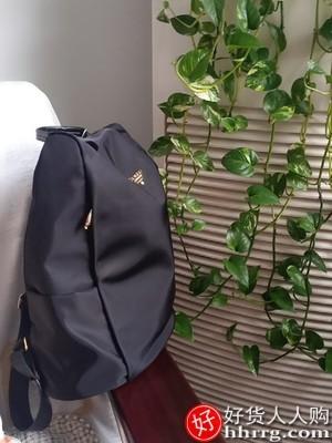 interlace,1# - ZOGER双肩包女,时尚韩版百搭大容量牛津布简约旅行防盗背包书包