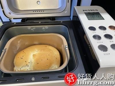 interlace,1# - 柏翠PE8855家用面包机,多功能揉面小型全自动和面发酵早餐吐司机