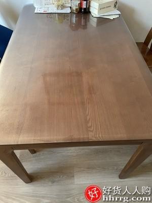 interlace,1# - 桑尼圆桌桌垫子塑料桌布防水防油防烫免洗,简约透明餐桌PVC圆形软玻璃