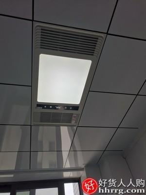 interlace,1# - 奥克斯浴霸灯,卫生间集成吊顶风暖排气扇照明五合一体浴室取暖风机