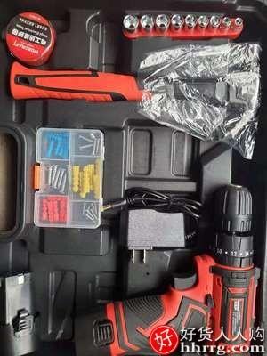 interlace,1# - 欧莱德家用锂电钻充电式手枪钻,多功能电动螺丝刀工具箱
