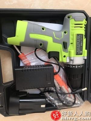 interlace,1# - 卡瓦尼手钻充电式冲击电钻,电动螺丝刀手电转钻家用起子小手枪钻