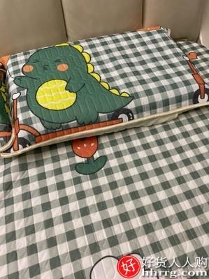 interlace,1# - 南极人冰丝乳胶床笠,夏季凉席防尘床罩单件床垫保护套全包床单防滑固定