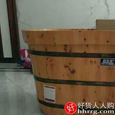 interlace,1# - 锦绣百年香柏木桶浴桶,熏蒸泡澡实木桶沐浴洗澡盆浴缸木质家用