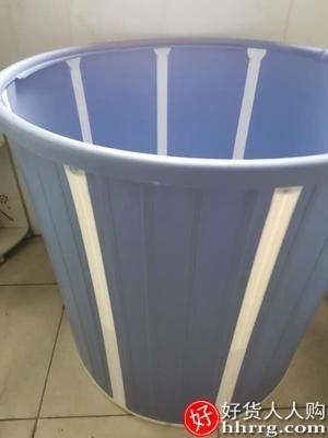 interlace,1# - 水天一方免安装折叠泡澡桶大人,沐浴洗澡桶家用坐浴盆全身浴桶浴缸