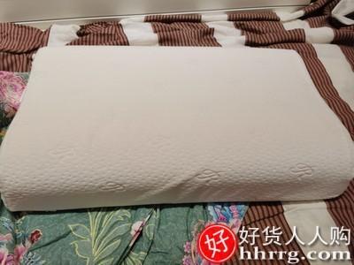 interlace,1# - 慕思乳胶枕头护颈椎,助睡眠记忆枕枕芯单人曲线成人枕头家用一对装