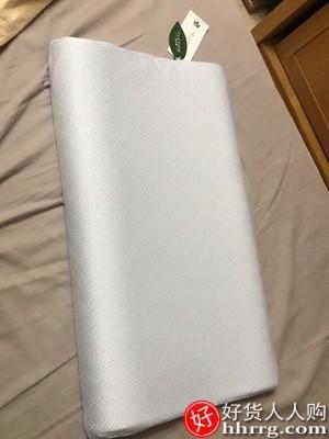 interlace,1# - 雪天鹅泰国乳胶枕头,超薄矮枕芯硅胶低枕橡胶记忆枕护颈椎助睡眠