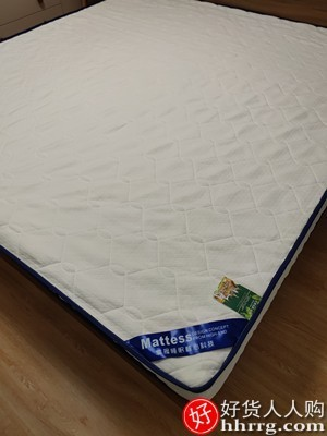 interlace,1# - 南极人床垫乳胶软垫,家用加厚单人褥子榻榻米海绵垫子
