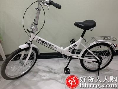interlace,1# - 凤凰折叠自行车16/20寸,成年超轻便携变速单车