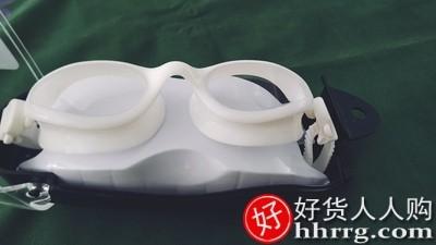 interlace,1# - WaterTime泳镜防水防雾高清女,游泳镜近视游泳眼镜泳帽套装