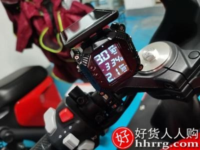 interlace,1# - 喜朗机车摩托车无线胎压监测器,电动车外置胎压检测仪表高精度骑行改装
