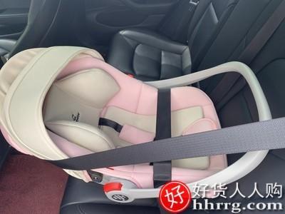 interlace,1# - 怡戈婴儿提篮式儿童安全座椅,汽车用新生儿宝宝睡篮车载便携式摇篮