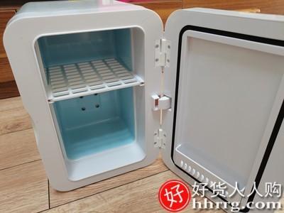 interlace,1# - Amoi夏新6L迷你小冰箱,小型家用宿舍车家两用车载制冷藏单人用