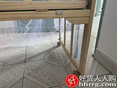 interlace,1# - 钰贝乐婴儿床实木无漆环保,宝宝床儿童床新生儿拼接大床婴儿摇篮床