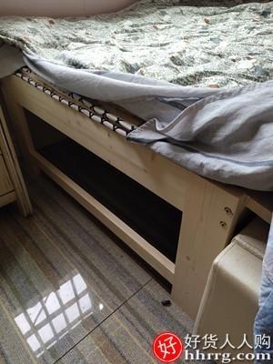 interlace,1# - 战旗拼接床加宽床边定制实木儿童床,带护栏经济型单人小床婴儿拼接大床