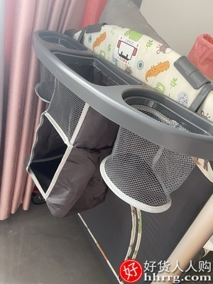 interlace,1# - valdera婴儿床可折叠多功能宝宝bb床,便携式移动床新生儿拼接大床