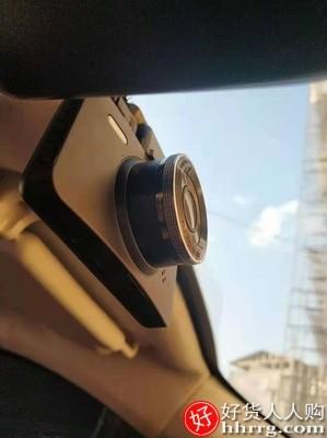 interlace,1# - 丁威特行车记录仪超高清夜视电子狗,汽车载前后双摄像头免走线