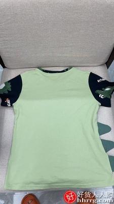 interlace,1# - 姿馨美男士睡衣,夏季纯棉短袖薄款卡通全棉家居服套装