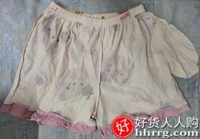 interlace,1# - 新观兰女士睡衣,纯棉短袖七分裤薄款春秋家居服两件套装
