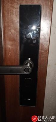 interlace,1# - 卢纳森指纹锁家用防盗门密码锁,智能门锁电子锁木门进户入户门防盗智能锁