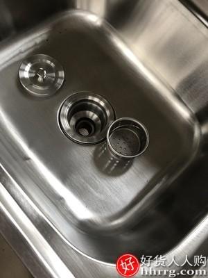 interlace,1# - 莱恩博特不锈钢水槽小单槽,厨房简易洗菜盆洗碗池洗手盆水池挂墙带支架