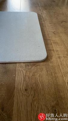 interlace,1# - 益伟硅藻泥吸水垫海藻脚垫,厕所卫生间门口防滑家用速干浴室硅藻土地垫