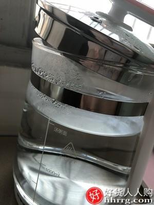 interlace,1# - 荣事达养生壶小型煮茶器花茶壶,全自动家用办公室多功能玻璃电水壶