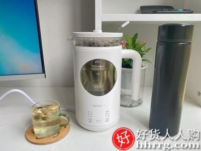 interlace,1# - 邻鹿养生壶一人用煮茶器,小型办公室家用多功能煮茶壶