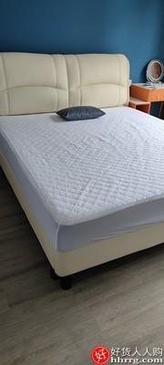 interlace,1# - 蓝盒子记忆棉弹簧床垫,硬垫双人家用软垫儿童席梦思