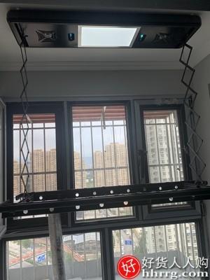 interlace,1# - 卡瑞琪电动晾衣架,家用自动晾衣杆智能烘干遥控升降阳台晒衣架