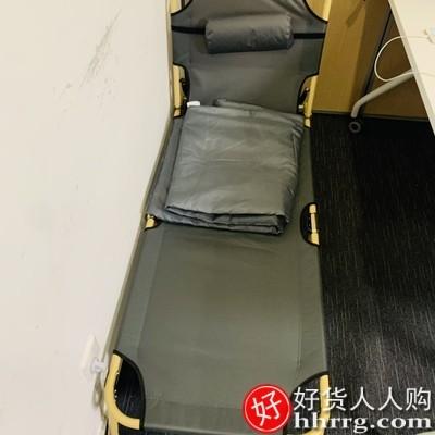 interlace,1# - 艾臣折叠床单人床,家用简易午休床办公室成人午睡行军床多功能躺椅