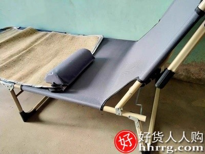 interlace,1# - 小涵家折叠床单人床办公室躺椅,午睡家用简易午休床陪护便携多功能行军床