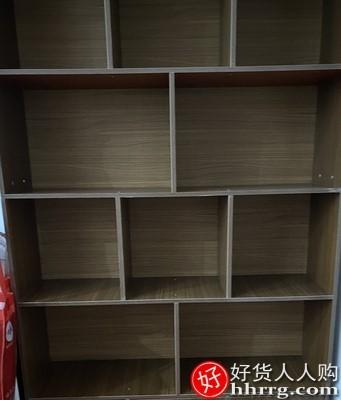 interlace,1# - 蔓斯菲尔简易书柜,落地靠墙客厅置物架卧室收纳架储物柜办公室书架