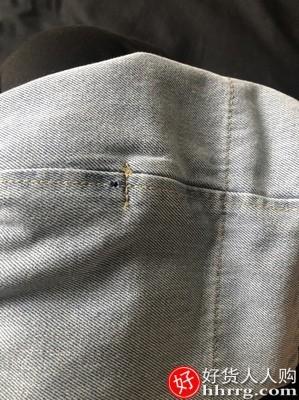 interlace,1# - VUUG男士牛仔裤,宽松直筒长裤夏季薄款休闲阔腿九分裤