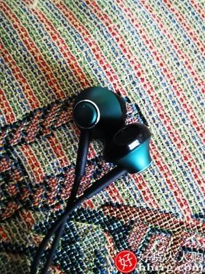 interlace,1# - 倍思入耳式有线耳机,高音质弯头圆孔重低音半降噪带麦适用游戏吃鸡K歌