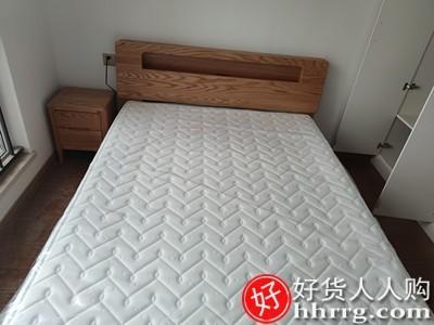 interlace,1# - 源氏木语全实木床,卧室橡木床北欧现代简约主卧双人床