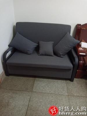interlace,1# - 旭夏可折叠两用沙发床,多功能双人小户型伸缩床单人坐卧经济型