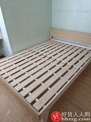 interlace,1# - 世香现代简约实木床,主卧双人大床单人床经济型出租房床