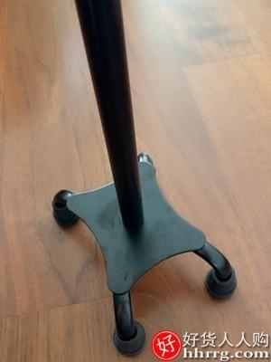 interlace,1# - 凯恩拐杖拐棍老人扶手杖,四脚防滑轻便老年人多功能灯伸缩铝合金拐扙