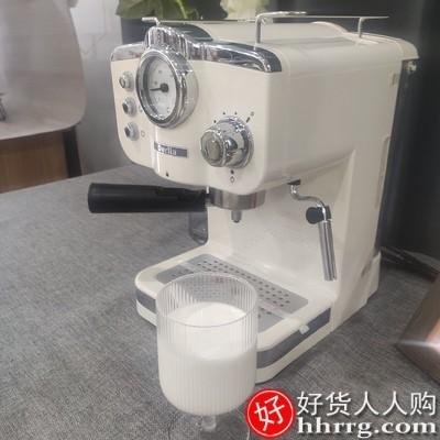 interlace,1# - 德国Derlla全半自动意式浓缩咖啡机,一体迷你复古家用小型奶泡机