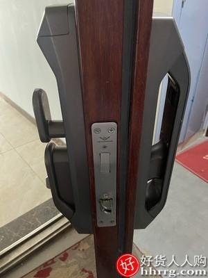 interlace,1# - 德施曼密码锁指纹锁,家用防盗门电子锁感应锁全自动猫眼智能锁Q5M-1