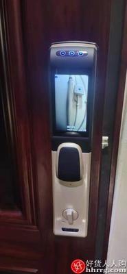 interlace,1# - 德国索克罗Suocenor全自动智能指纹锁,3D人脸识别家用防盗门带监控摄像头