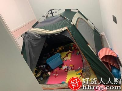 interlace,1# - 探险者户外野营加厚帐篷,便携式折叠露营装备防晒防暴雨全自动弹开