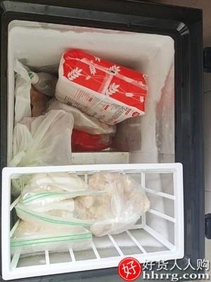 interlace,1# - 樱花家用小型保鲜小冰柜,冷藏冷冻两用大容量商用节能双温冷柜