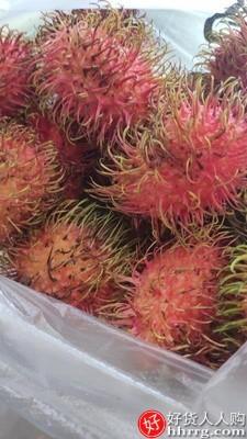 interlace,1# - 水蜜晶钻泰国进口红毛丹,新鲜水果带箱3斤大果毛荔枝当季毛丹果