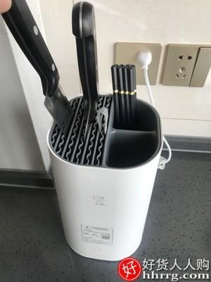 interlace,1# - 火鸡消毒刀架筷子消毒机,家用小型筷笼消毒器烘干刀筷架KR-33