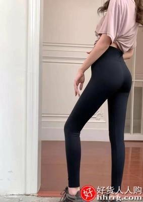 interlace,1# - 卡仑奴鲨鱼裤女,外穿悬浮加绒收腹提臀瘦腿压力瑜伽打底裤芭比裤